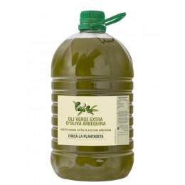 Aceite nueva cosecha 2020 Arbequina sin filtrar 5L