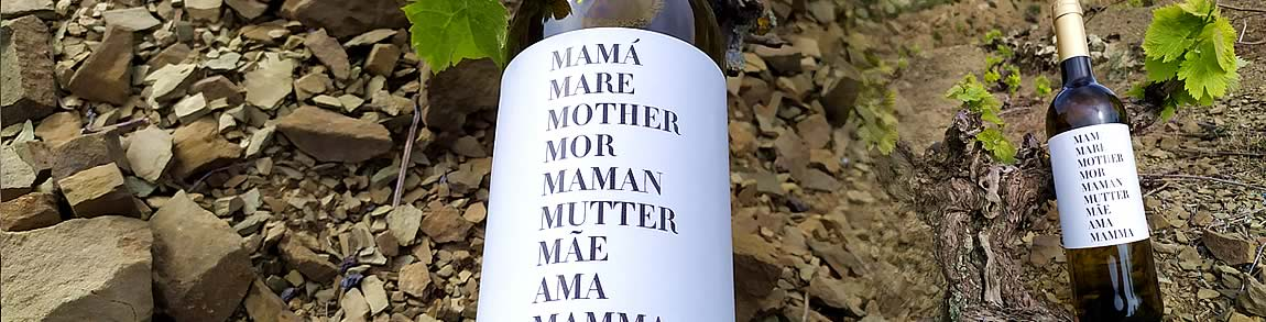 Vino MAMÁ MARE MOTHER Día de la madre